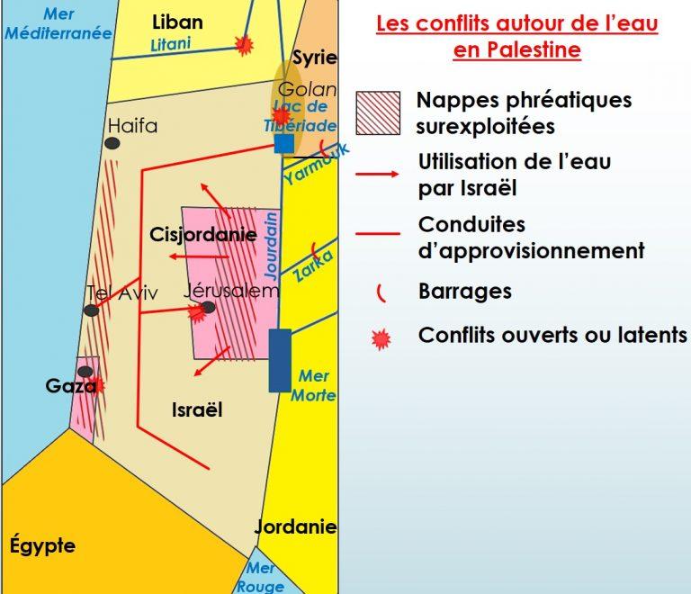 les-conflits-autour-de-leau-en-palestine