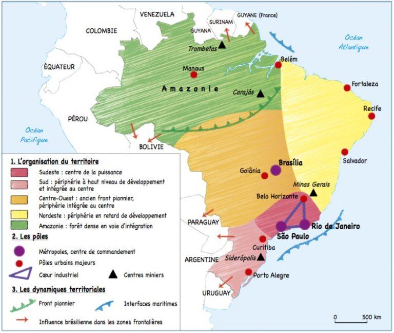 Carte Amerique Puissance Du Nord Affirmation Du Sud.G7 L Amerique Puissance Du Nord Affirmation Du Sud